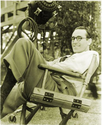 Harold Lloyd, actor, Oscar winner, Burchard, NE.