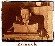 (photo) Producer Darryl Zanuck at work.