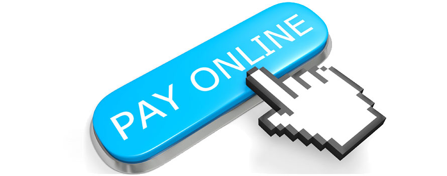 Online Payment updates on fees from the third party service provider