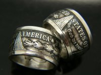Morgan Silver Dollar Coin Ring | Bungalow-D Coin Rings
