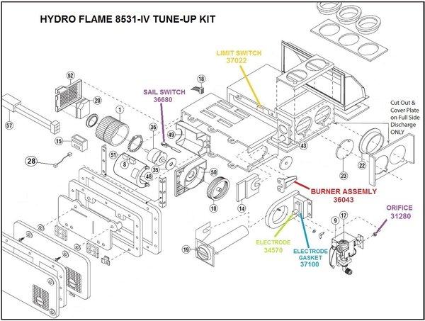 Atwood Furnace Model 8531 Iv Parts Pdxrvwholesale