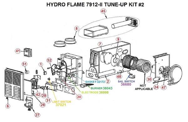 hydro flame furnace wiring diagram hydroflame