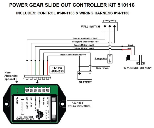 slide out switch wiring diagram