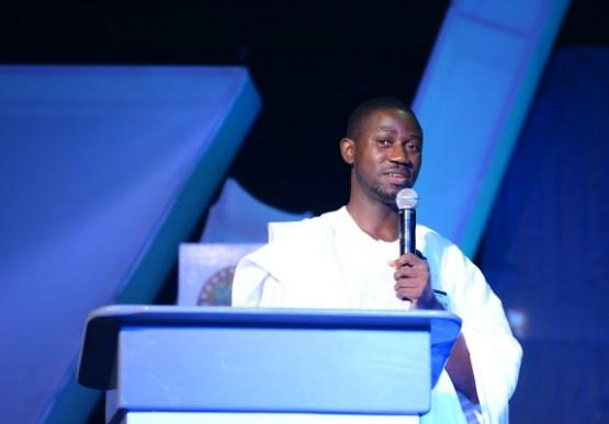 Ayeni Adekunle speaking at #NECLive4