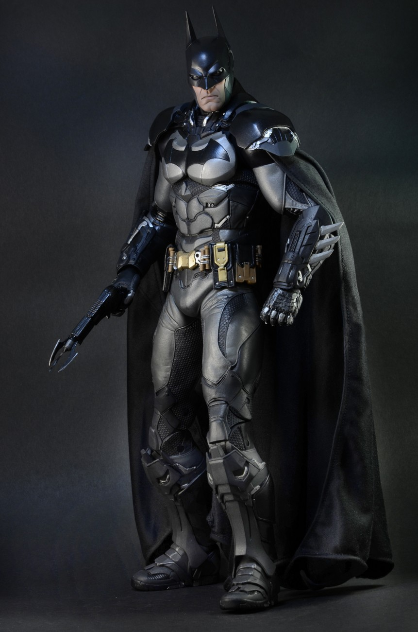 3d Home Wallpaper Malaysia Closer Look Batman Arkham Knight 1 4 Scale Action Figure