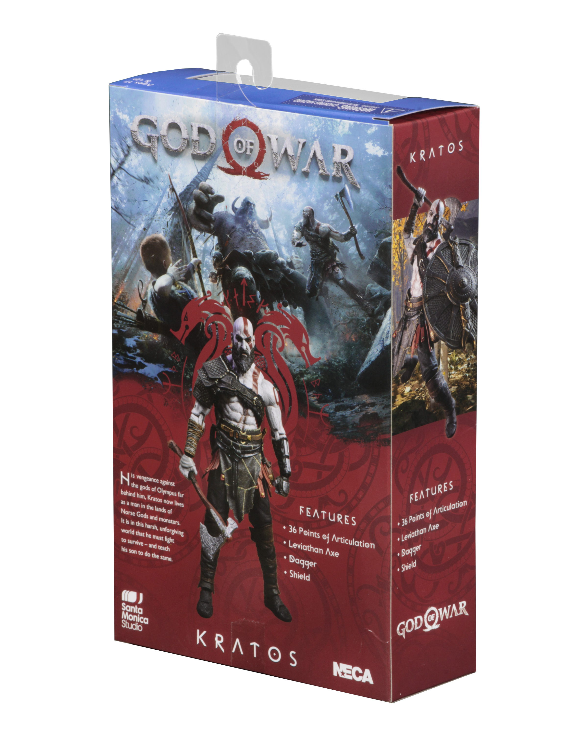 Beste Sofabetten 2018 Academy God Of War 2018 7 Scale Action Figure Kratos
