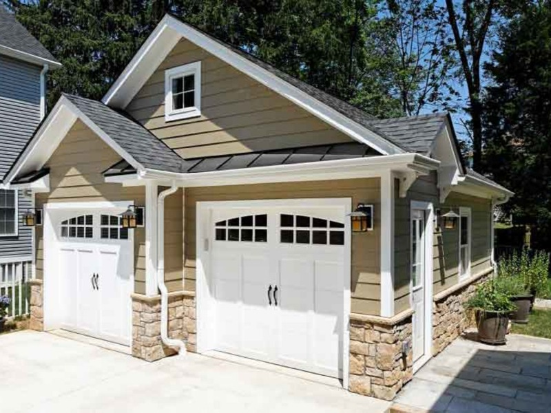Garages Stonework Photos