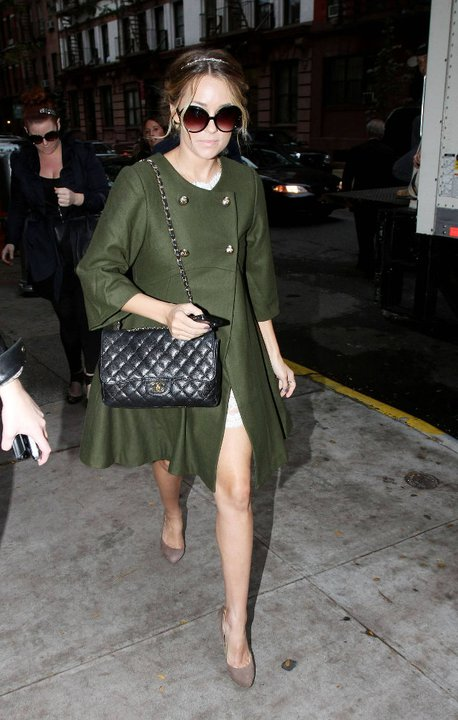 Shop Her Style: Lauren Conrad In Her ASOS Coat %tag