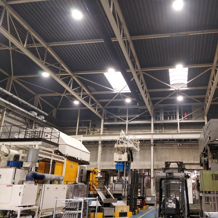 Industriele Led Verlichting Nedfields Lighting Research Applied Lighting Systems