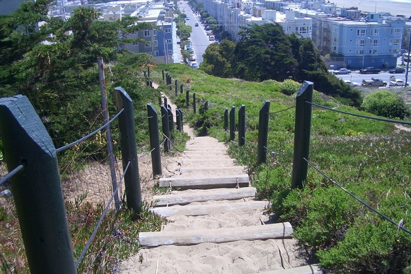 sutro heights stairs