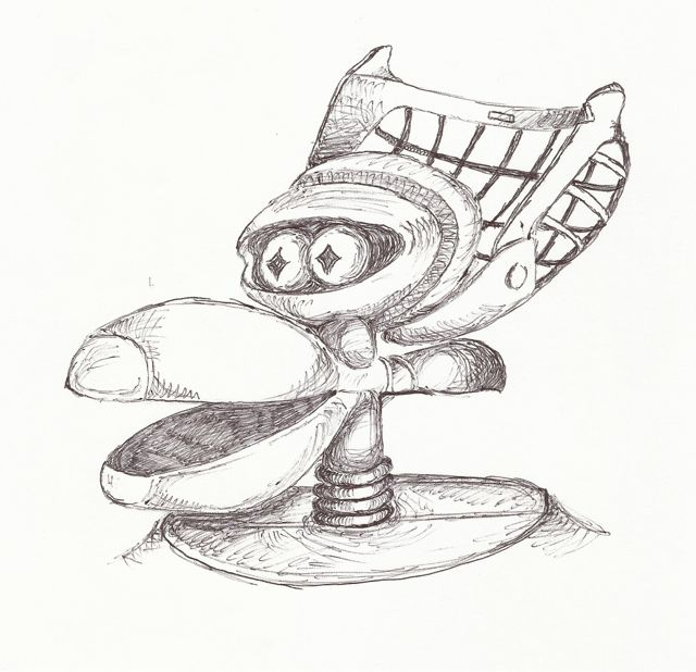 crow t robot diagram