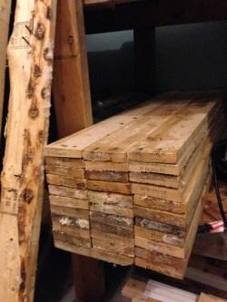Comfy Reclaimed Pallet Wood Diy Floating Bathroom Shelves Diy At Needles Wood Bathroom Shelves Wood Bathroom Shelves
