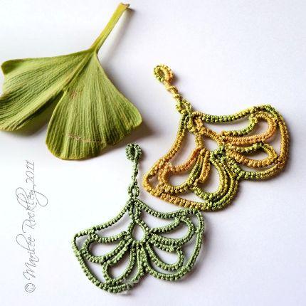 Ginkgo Leaf Knitting Pattern : Ginkgo pattern from Yarnplayer   Needle Work