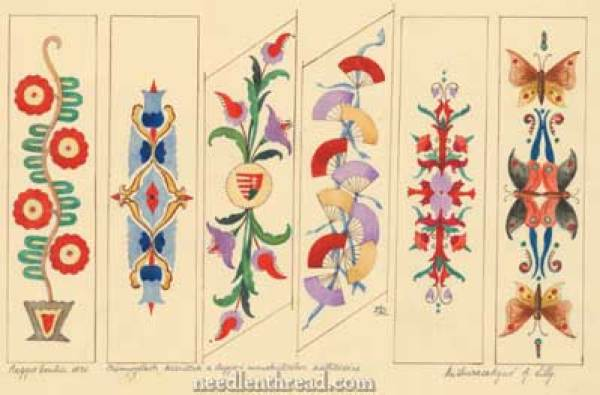 Hungarian-Embroidery-Bookmarks-All