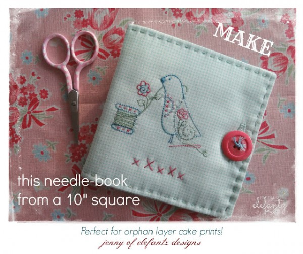 ELEFANTZ layer cake needle book 2015