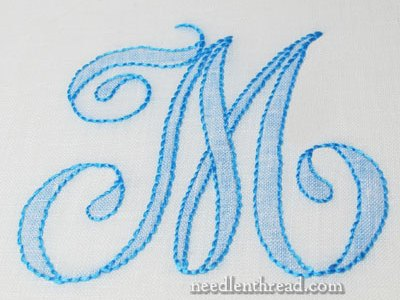 How To Shadow Work Monogram Letters