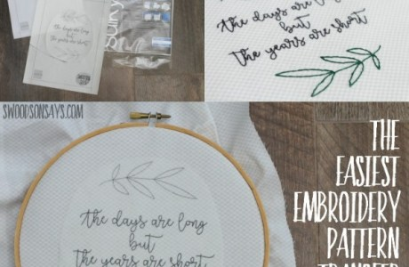 The Easiest Way To Transfer Embroidery Patterns: Fabri-solvy