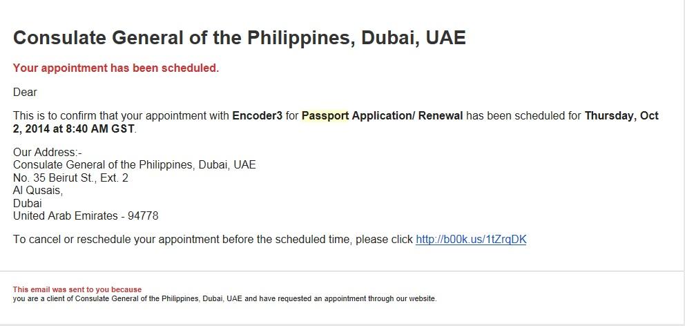 New Form For Philippine Passport Renewal In Dubai