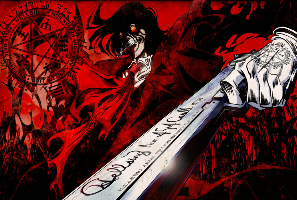 Usa Anime Gun Girl Wallpaper 1920x1080 Hellsing Ultimate Download Mega Animes