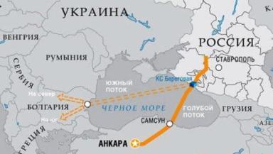 Болгария южный поток