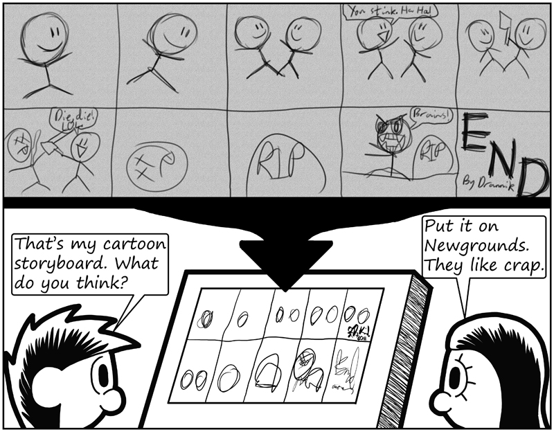 Negligence - Negligence #483 Drannik\u0027s Cartoon Storyboard