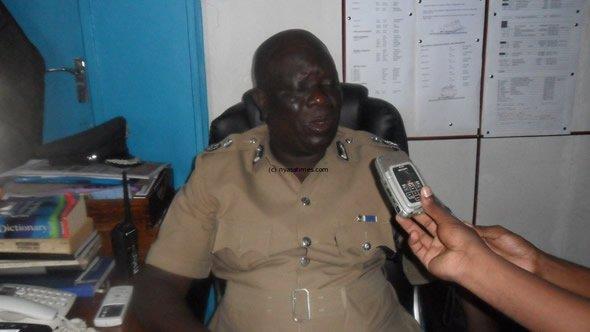 Salima police chief Foster Mangani