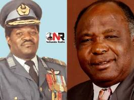 The late Air-Marshal Josiah Tungamirai and former Zanu PF senator, Aguy Clement Georgias, who owns Trinity Engineering
