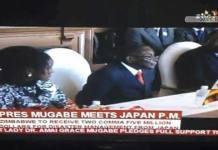 Bona joins Mugabe on Japan trip