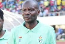 Young Warriors coach Callisto Pasuwa
