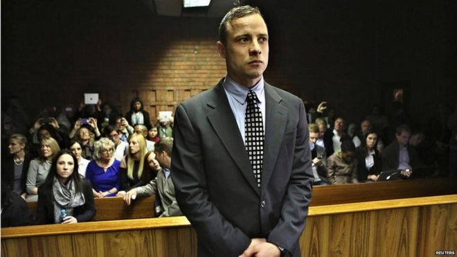 "The parents of Reeva Steenkamp have said Pistorius' time in jail is ""not enough for taking a life"""