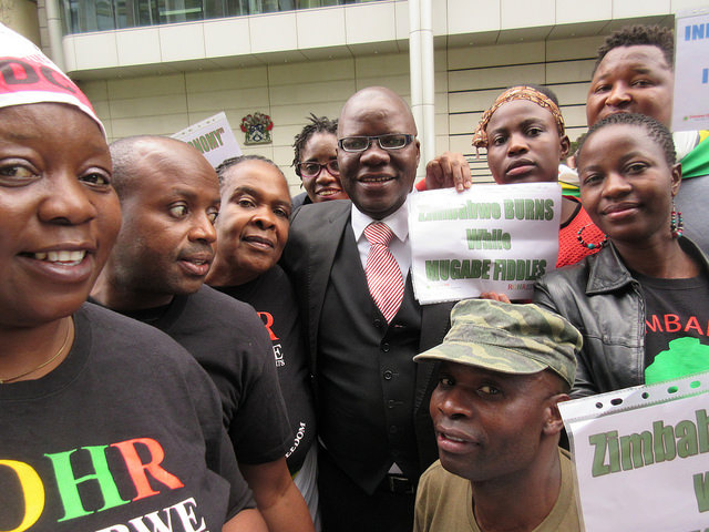The Vigil was congratulated on its work by former coalition finance minister Tendai Biti.