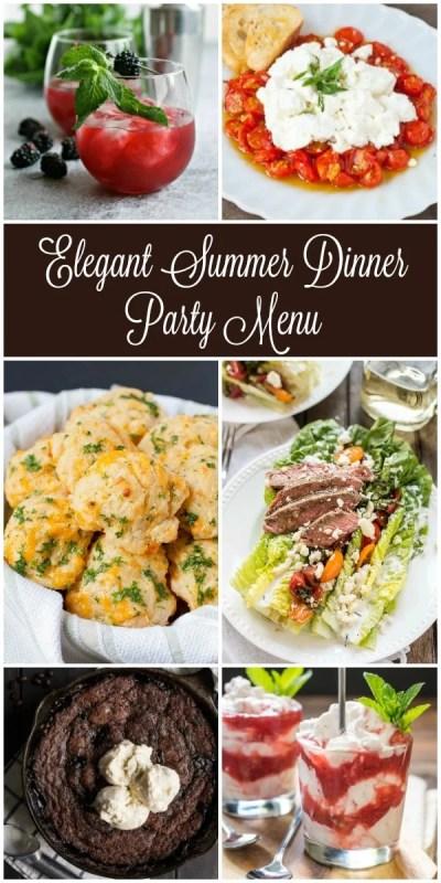 Summer Dinner Party Menus   NeighborFood