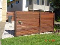 Fence Ideas Horizontal and Vertical Slats - Neighborhood ...