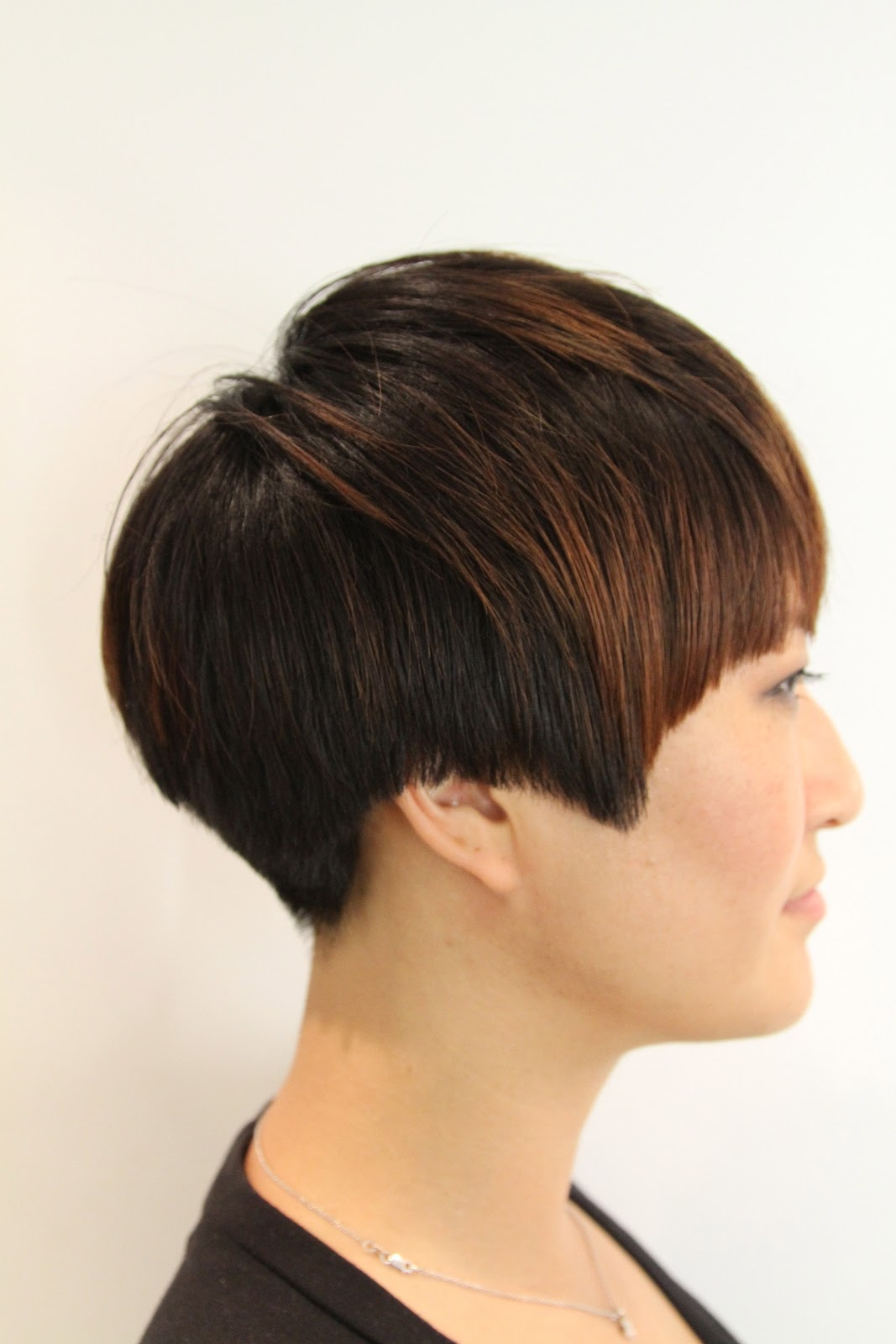 Salon Cut In How To Cut Hair Like Anh Co Tran Hairstylegalleries