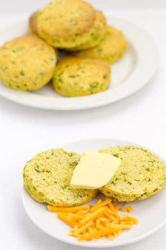 Sweet Potato Spinach Scones