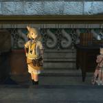 【FF14】クロちゃんのところに子ミコッテが訪問!低確率で出現することがある模様【画像あり】