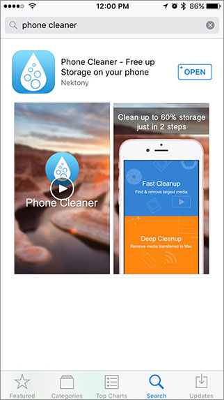 Getting Started with Phone Cleaner