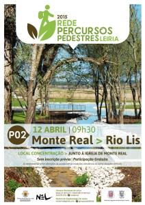 2º Passeio Pedestre Concelho Leiria - Monte Real/Rio Lis @ Monte Real/Rio Lis