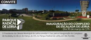 Inauguração da Parede de Escalada do Polis Leiria