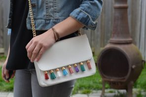 Rebecca Minkoff Tassel Bag DIY (Sofia) Copy Cat Tutorial | YouTube