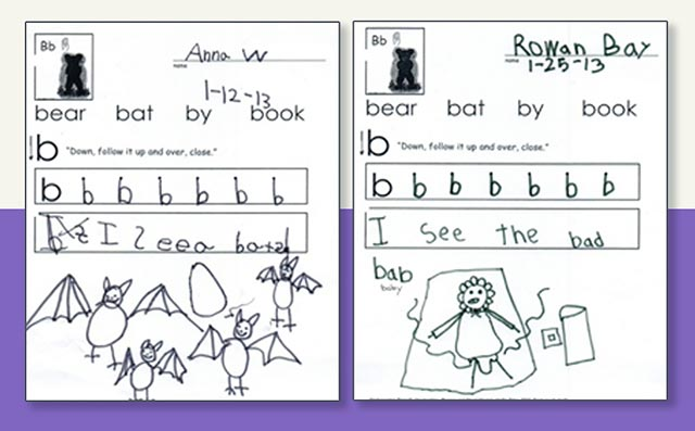 Kindergarten-Friendly Handwriting by Nellie Edge