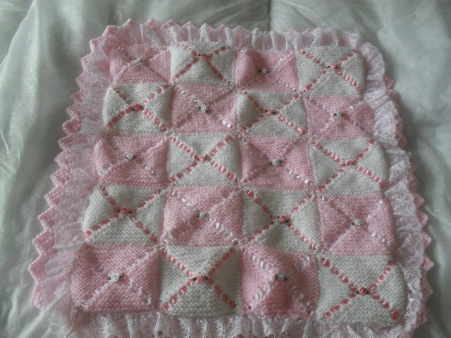 Baby Pram Pillow Nell 39;s Baby Knits