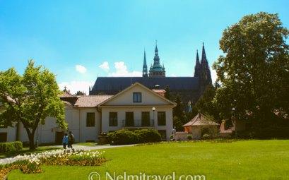Royal Gardens Prague Castle; Prague Castle Gardens; Prague Castle gardens hours; Nelmitravel;