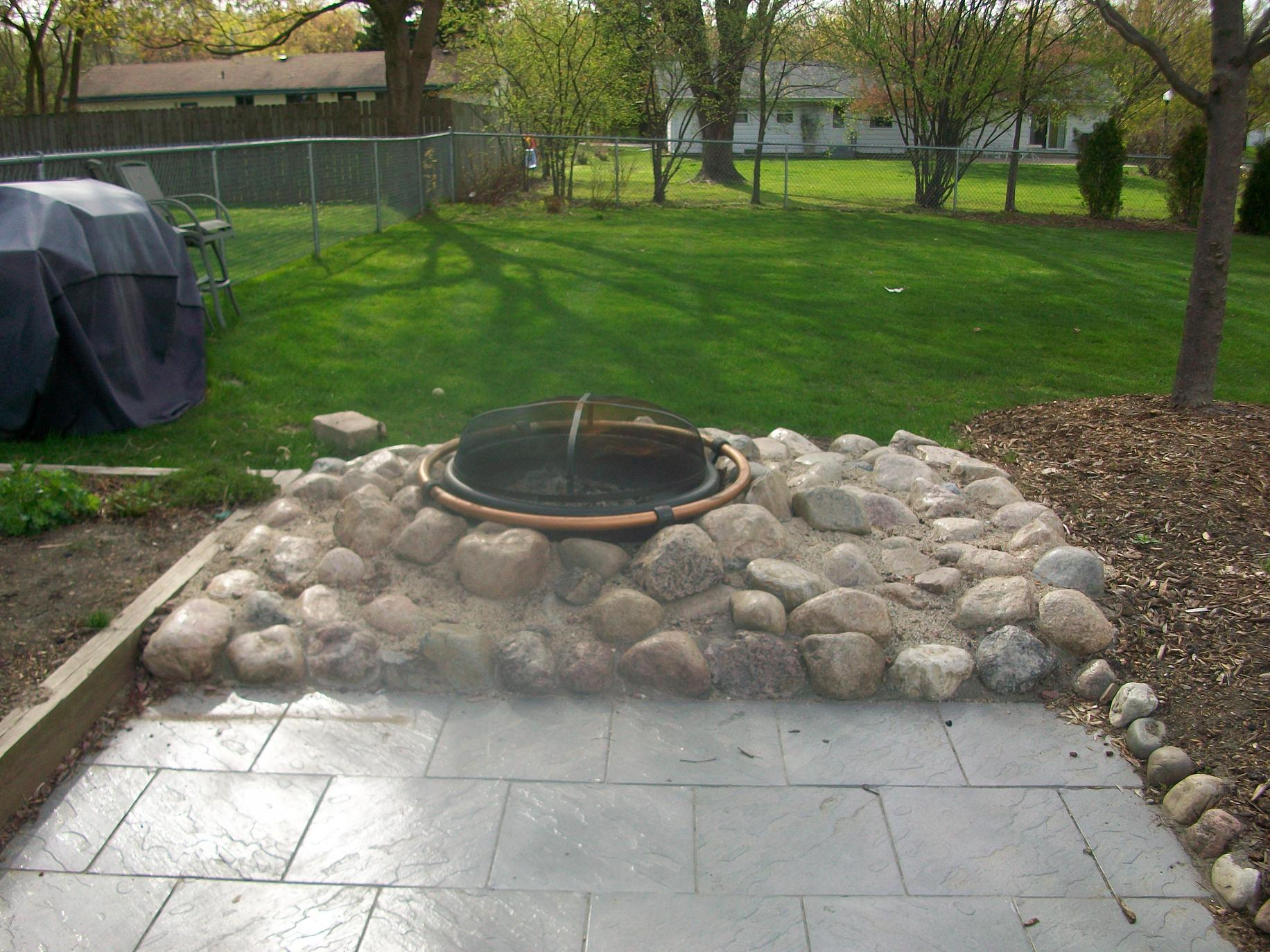 Brick Patio Hardscapes Gallery Milwaukee Landscaping