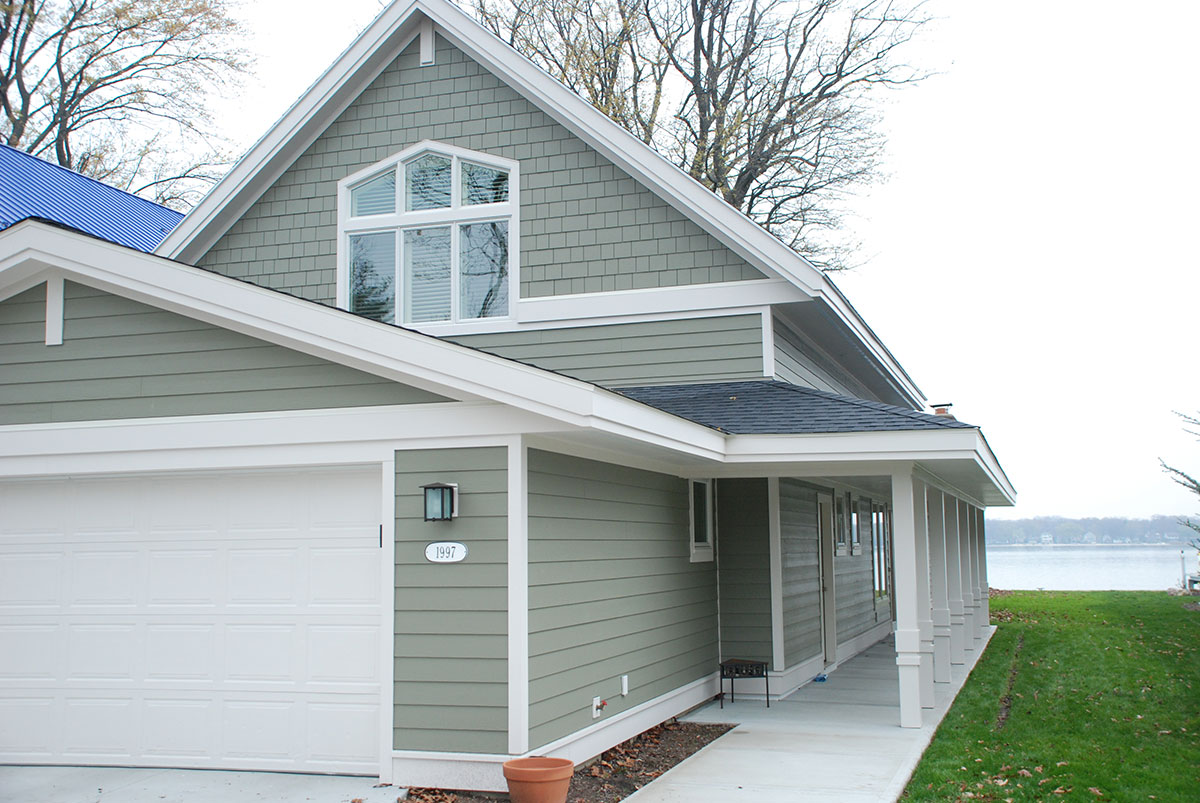 Exterior House Finishes Exterior Finish Holland Mi West Michigan Design Build