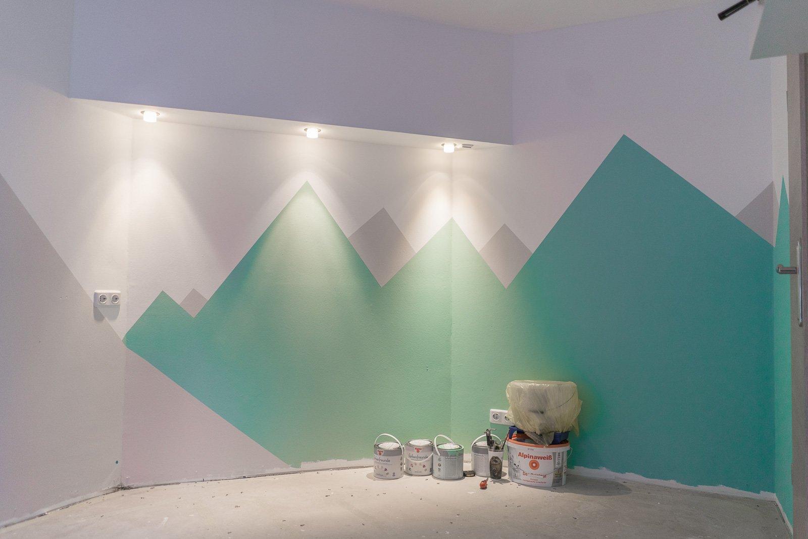 Wandgestaltung Berge Top 10 Ideen Fur Wandgestaltung Schlafzimmer