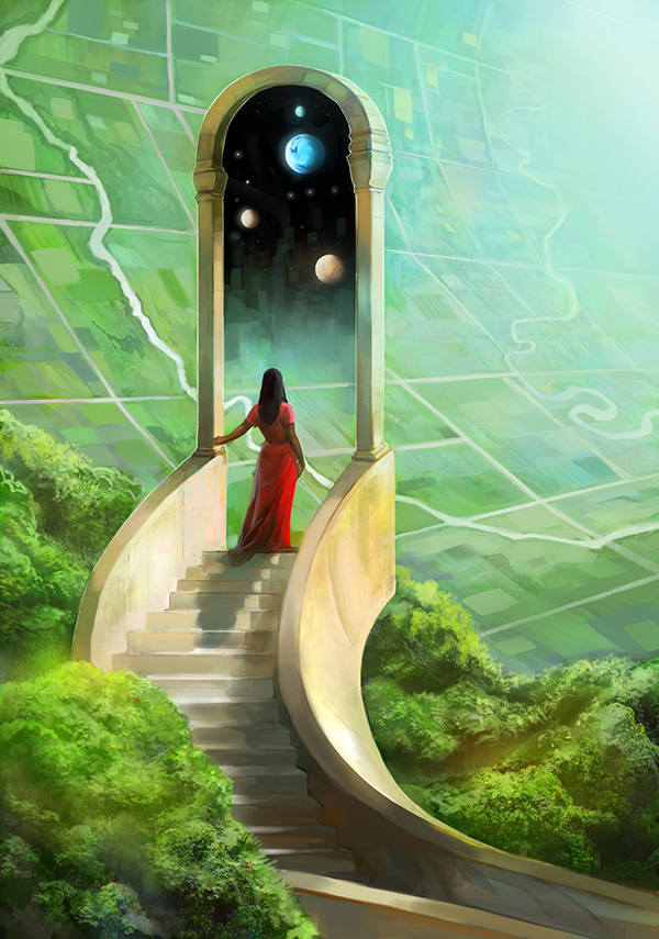 Beautiful Fiction Girl Wallpapers Digital Art By Julie Dillon Nenuno Creative
