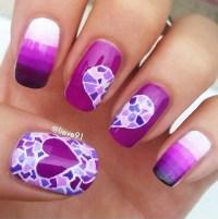 45+ Purple Nail Art Ideas - nenuno creative