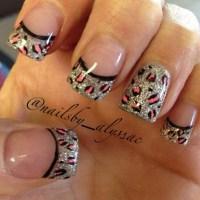 50+ Leopard Nail Art Ideas - nenuno creative
