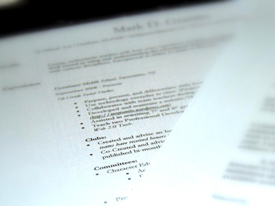 The dreaded 2-page CV, for seasoned aid workers Devex